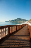 Albir beach Stock Images