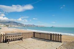 Albir beach Stock Photography