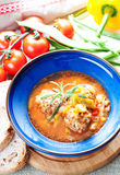 Albondigas Soup Royalty Free Stock Photo