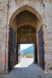 Albornoz堡垒。Narni。翁布里亚。意大利。 库存照片