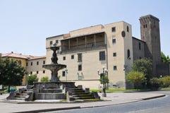 Albornoz Castle. Viterbo. Lazio. Italy. Royalty Free Stock Image