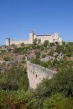 albornoz forteca Zdjęcie Royalty Free