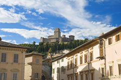 Albornoz fortress. Assisi. Umbria. Royalty Free Stock Photos
