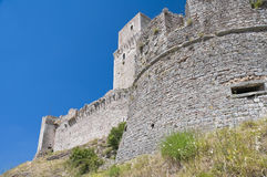 Albornoz fortress. Assisi. Umbria. Stock Images