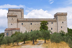 Albornoz fortress. Narni. Umbria. Italy. Royalty Free Stock Images