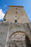 Albornoz fortress. Narni. Umbria. Italy. Royalty Free Stock Photo