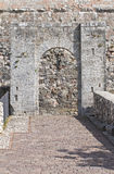 Albornoz fortress. Narni. Umbria. Italy. Stock Photography