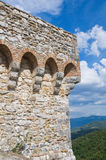 Albornoz fortress. Narni. Umbria. Italy. Royalty Free Stock Images
