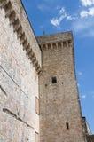 Albornoz fortress. Narni. Umbria. Italy. Royalty Free Stock Photography