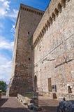 Albornoz fortress. Narni. Umbria. Italy. Stock Photography
