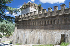 Albornoz fortress. Spello. Umbria. Royalty Free Stock Photo