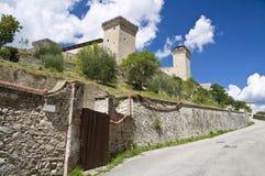 Albornoz fortress. Spoleto. Umbria. Royalty Free Stock Images