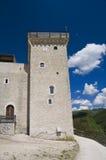 Albornoz fortress. Spoleto. Umbria. Royalty Free Stock Photos