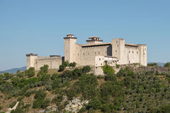 Albornoz fortress Royalty Free Stock Photography