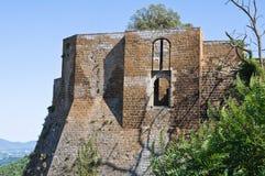 Albornoz rocca. Orvieto. Umbria. Italy. Stock Images