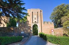 Albornoz rocca. Orvieto. Umbria. Italy. Stock Image