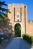 Albornoz rocca. Orvieto. Umbria. Italy. Royalty Free Stock Photo