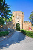 Albornoz rocca. Orvieto. Umbria. Italy. Royalty Free Stock Image