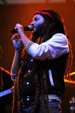 Alborosie band from Jamaica performs live at a concert Stock Images