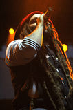 Alborosie band from Jamaica performs live at a concert Stock Photos