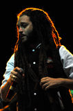 Alborosie band from Jamaica performs live at a concert Royalty Free Stock Photo
