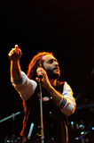 Alborosie band from Jamaica performs live at a concert Stock Image