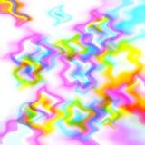Alboroto del arco iris Fotografía de archivo