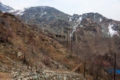 Alborz mountains, Iran. View of Alborz mountains, Iran royalty free stock photography