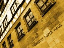 Albrecht-Duerer-Haus Stock Afbeeldingen