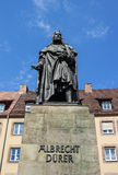 Albrecht Duerer monument in Nuremberg, Germany, 2015 Royalty Free Stock Images