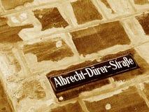 Albrecht-Duerer-Street Royalty Free Stock Photography