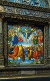 Albrecht Durer Adoration della trinità 1509 in Kunsthistorisc immagine stock libera da diritti