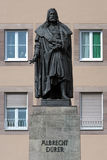 Albrecht Durer Monument in Nuremberg Royalty Free Stock Images