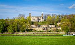 Albrechtsberg Palace in Dresden. Royalty Free Stock Photography