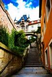 Albrechtsburg в Meissen стоковые фотографии rf