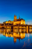 Albrechtsburg i Meissen katedra Zdjęcie Royalty Free