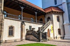 Albrechtsburg jest opóźnionym gotyka kasztelem Zdjęcia Stock