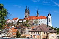 Albrechtsburg kasztel w Meissen Fotografia Royalty Free