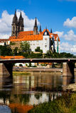 Albrechtsburg in Meissen Stock Photo
