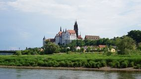 Albrechtsburg in Saksen, Duitsland Royalty-vrije Stock Foto