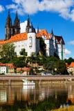 Albrechtsburg w Meissen Fotografia Royalty Free