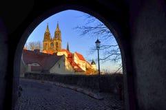Albrechtsburg w Meissen Saxony, Niemcy - Obrazy Stock
