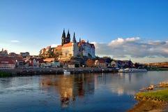 Albrechtsburg w Meissen Saxony, Niemcy - Zdjęcia Royalty Free