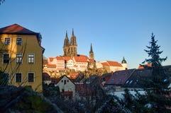 Albrechtsburg w Meissen Saxony, Niemcy - Obrazy Royalty Free