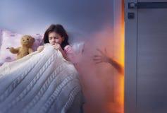 Albtraum für Kinder Stockfotografie