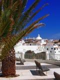albufeira晴朗美丽的葡萄牙 库存图片