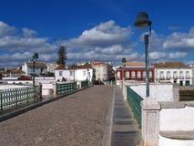 albufeira algarve有历史的葡萄牙城镇 免版税库存照片