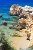 albufeira Algarve Portugal Obraz Royalty Free