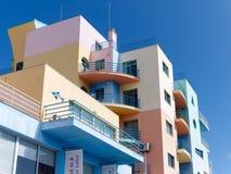 ALBUFEIRA, ALGARVE/PORTUGAL DO SUL - 10 DE MARÇO: Buil colorido Foto de Stock