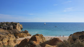 Albufeira algarve, portugal Royalty Free Stock Images